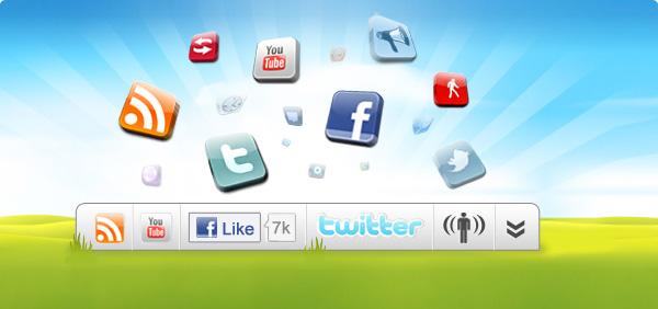 Wibiya: Toolbar gratuito para Webs